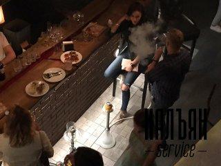Кальянщик на день рождения в баре